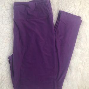 LulaRoe TC Leggings (purple)